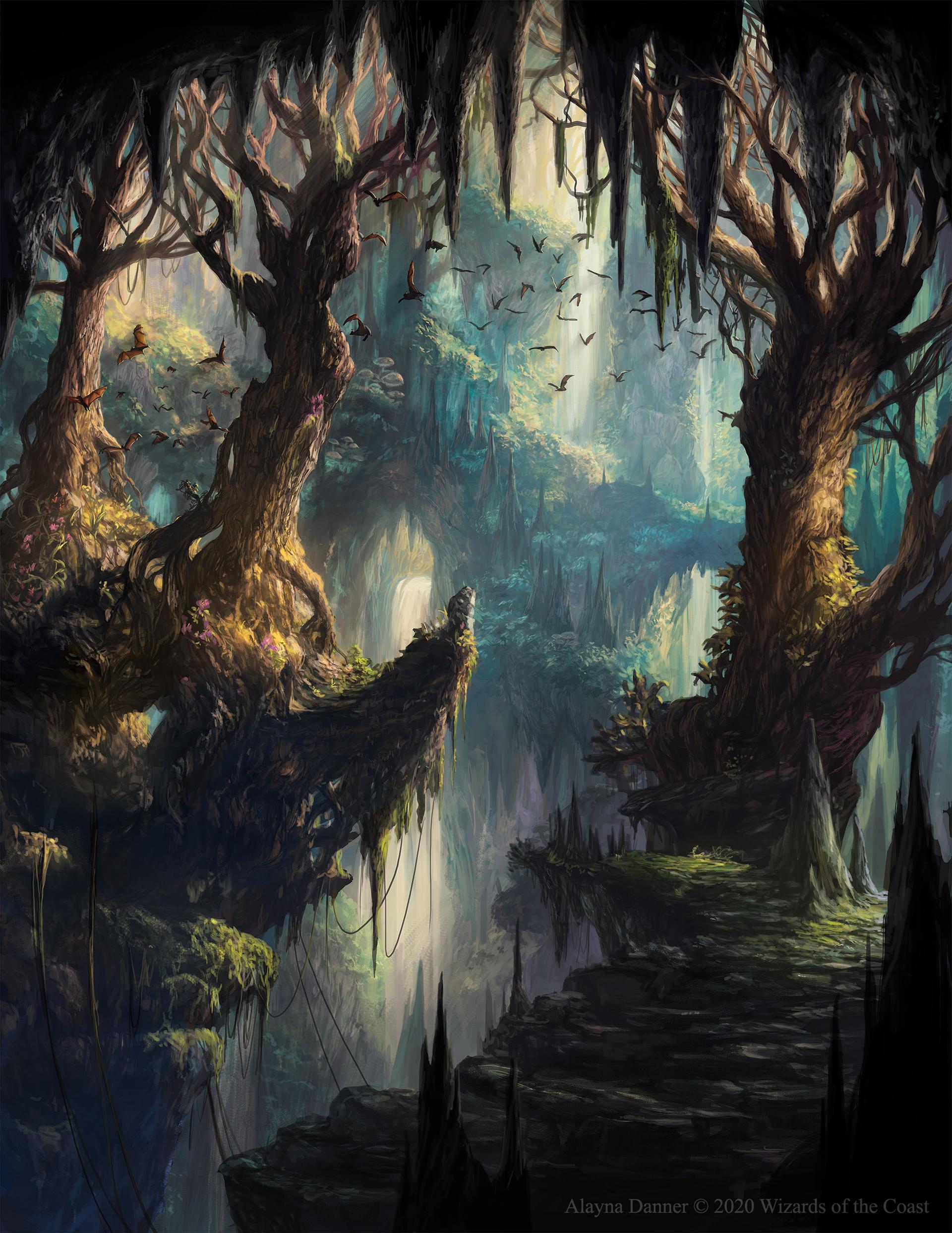 Deviant - art : une source d'inspiration pour nos univers ? - Page 3 Verdant_catacombs_from_magic__the_gathering_by_alayna_de6pqik-fullview.jpg?token=eyJ0eXAiOiJKV1QiLCJhbGciOiJIUzI1NiJ9.eyJzdWIiOiJ1cm46YXBwOjdlMGQxODg5ODIyNjQzNzNhNWYwZDQxNWVhMGQyNmUwIiwiaXNzIjoidXJuOmFwcDo3ZTBkMTg4OTgyMjY0MzczYTVmMGQ0MTVlYTBkMjZlMCIsIm9iaiI6W1t7ImhlaWdodCI6Ijw9MjQ4NiIsInBhdGgiOiJcL2ZcLzAyMDliZDE4LTMxNjEtNDU3MC04NGM0LWU3NDE5ZTFmZGNlYVwvZGU2cHFpay0zMWM2YjE3ZC1mYzU5LTRlMmUtOWQyZS04ZGYxZTM2NzQ5YzEuanBnIiwid2lkdGgiOiI8PTE5MjAifV1dLCJhdWQiOlsidXJuOnNlcnZpY2U6aW1hZ2Uub3BlcmF0aW9ucyJdfQ