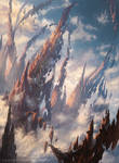 Needleverge Pathway from Magic The Gathering Arena