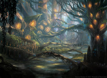 Witherbloom Campus from Magic: tG Strixhaven