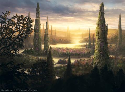 Sungrass Prairie from Magic's DnD set