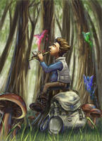 A song to the forest by Alayna