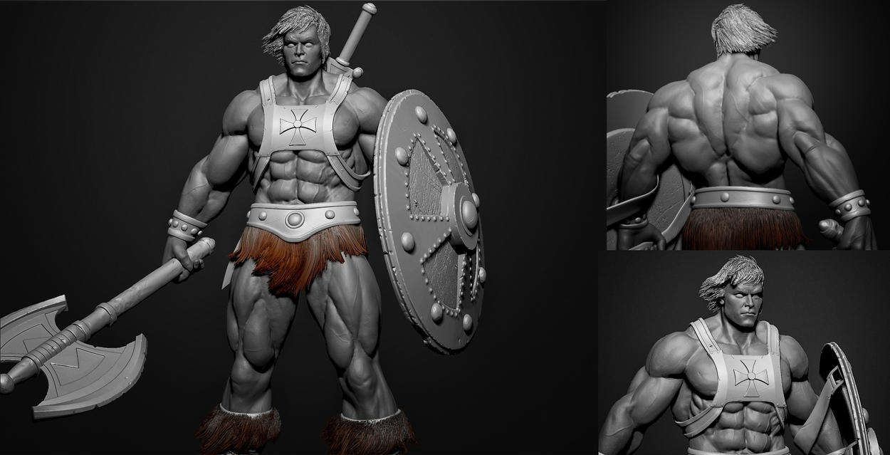 He Man - Zbrush screengrabs by Rishi-Raj