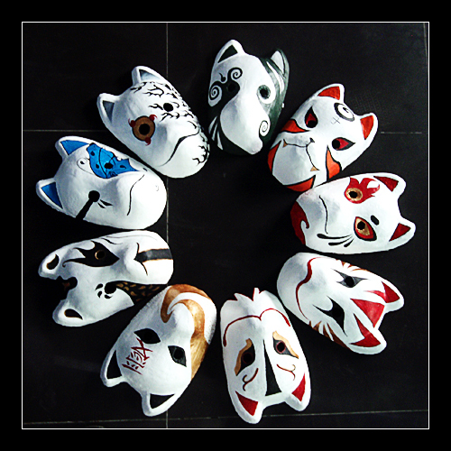 Our group's Anbu mask by klausious on DeviantArt