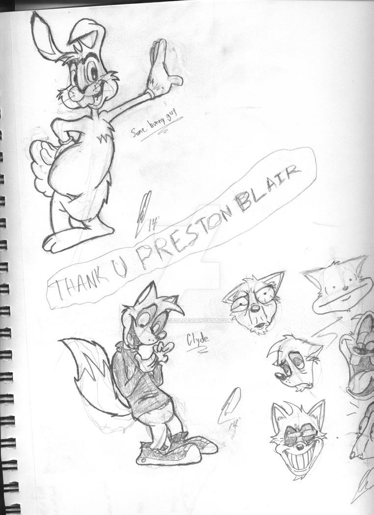 Thank you, Preston Blair. by SirElliot24