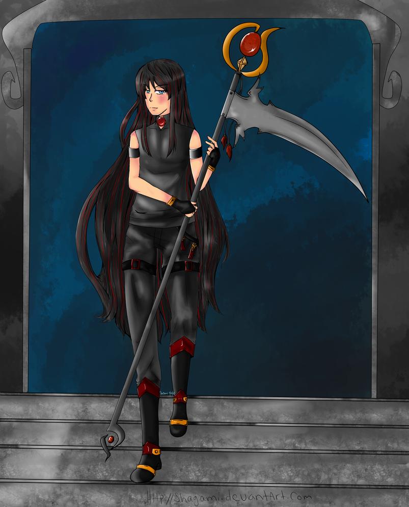 Shagami God of Death REDRAW by Shagami