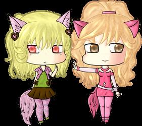 Desiree and Zavanna