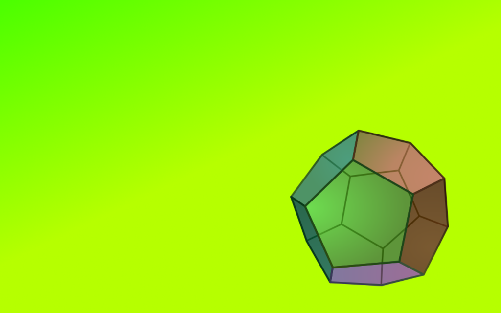 Dodecahedron Wallpaper by ZerOcarina