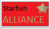 Starfish Alliance stamp by Hellocloser