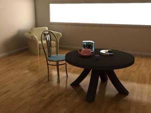 Interior Room -3D Render-
