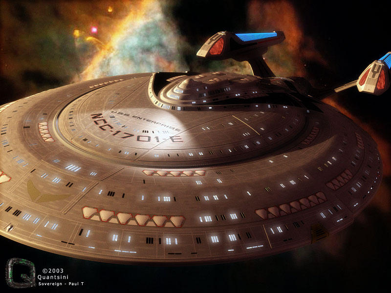Ship in a Nebula by quantsini