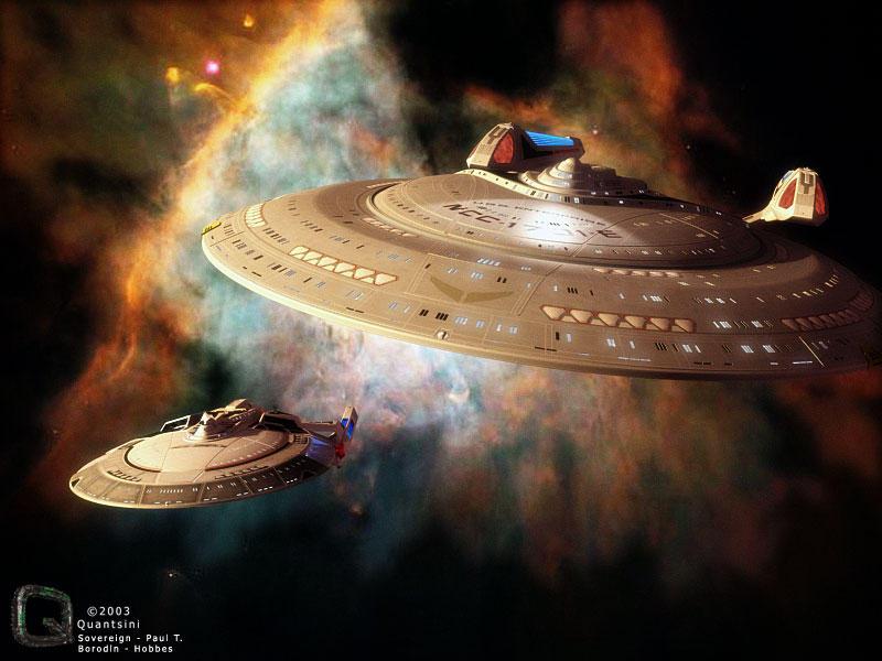 Ships in a Nebula REMIX by quantsini