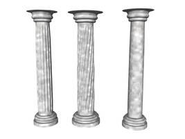 Columns by lish-stock