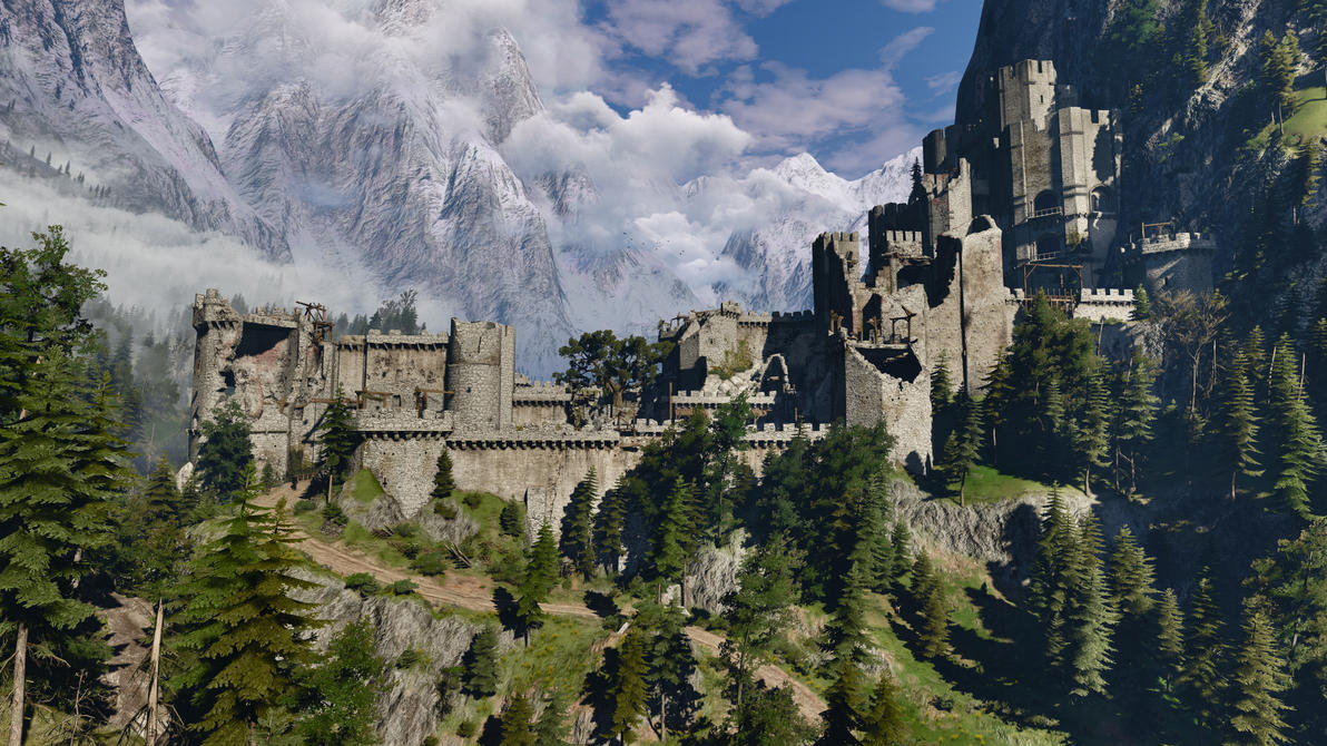 witcher 3 how to get to kaer morhen