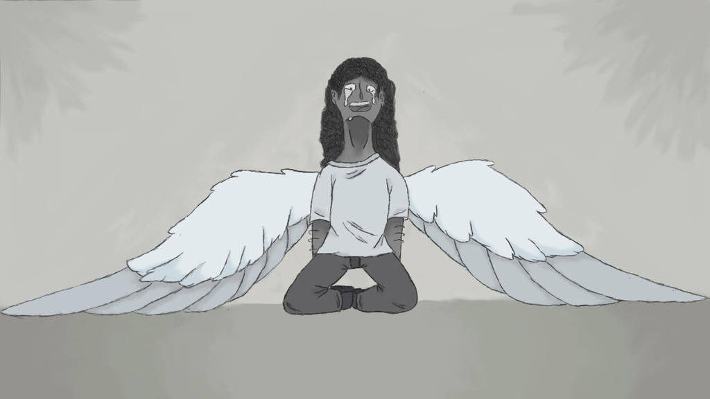 Fallen Angel ( or something, I dunno ) by PheaNixJ956
