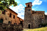 Ancient Church of Bauduen by hvwn