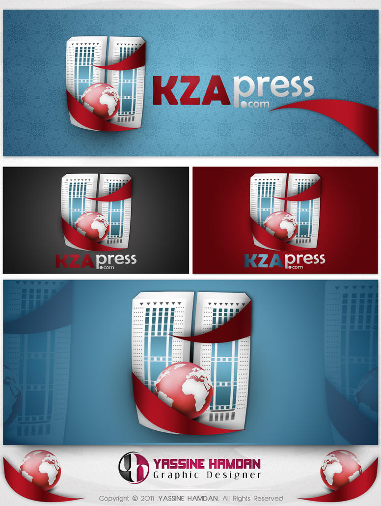 KZA Press.Com by Hamdan-Graphics