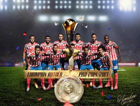 Atletico Tetuan Champion BOTOLA Pro 2013/2014