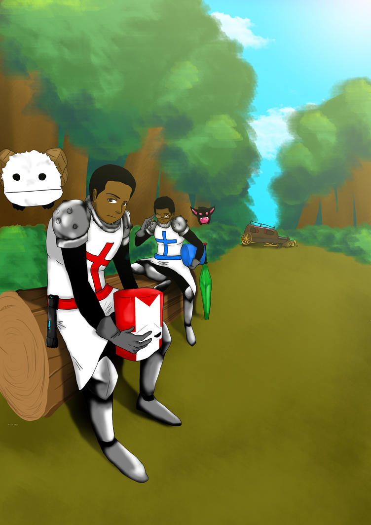 Castle Crashers by LordofTheSouls