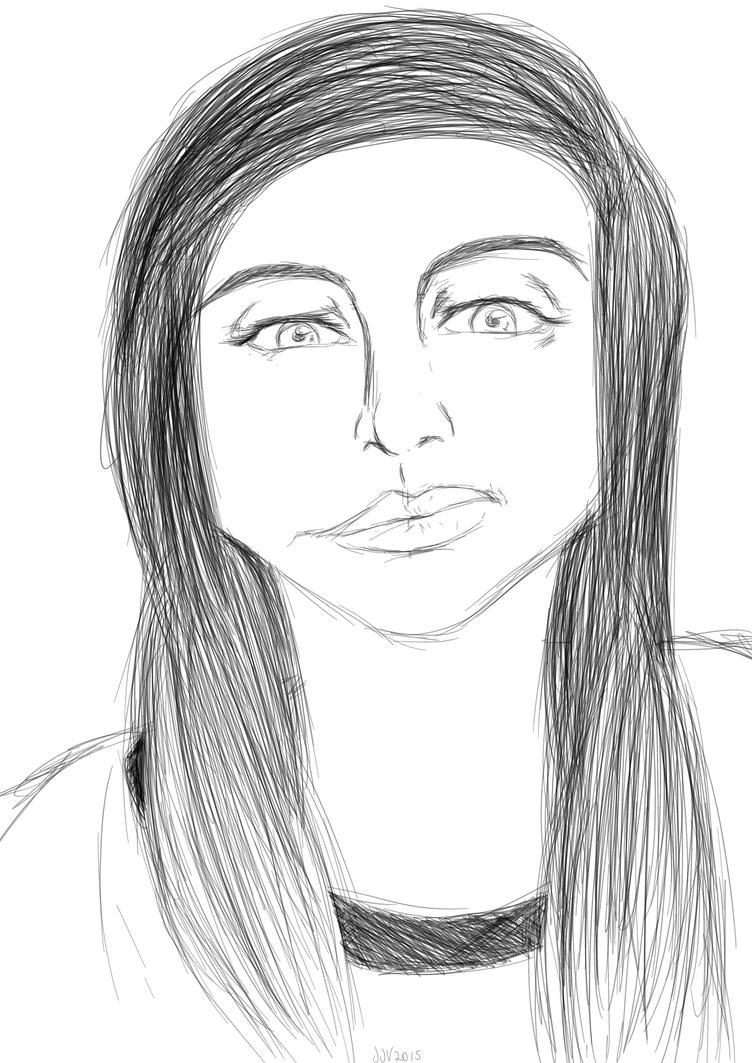 Random Sketch by LordofTheSouls