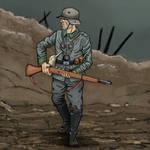 German WW1 Stormtrooper