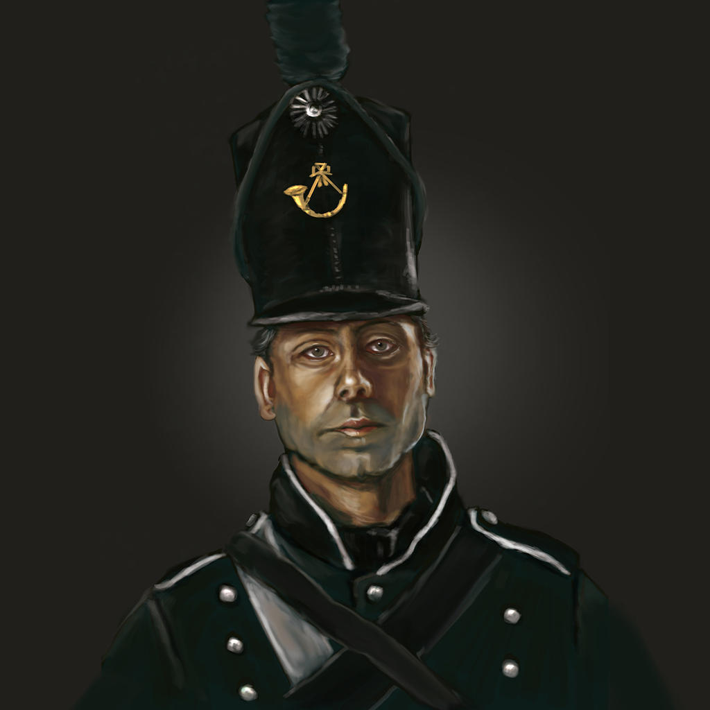 95th Rifleman by timcatherall