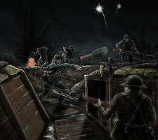 WW1 Trench Raid by timcatherall