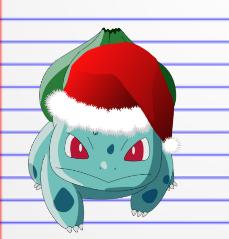 44c202e7 Christmas Bulbasaur! by cp2581 on DeviantArt