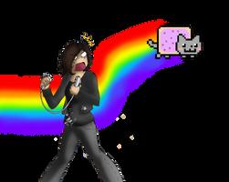 Nyan cat invides your wii by blazeofdarkness