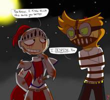 Happy (belated) Halloween! by BlazingAngel123