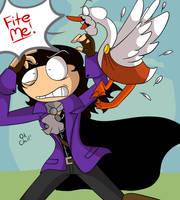 Fite Me! by BlazingAngel123