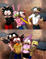 Go to a haunted house they said.... by BlazingAngel123