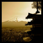 Chureito Pagoda by jyoujo