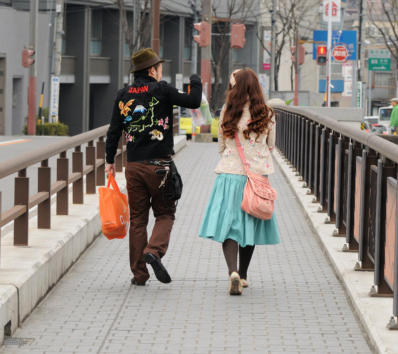 harajuku couple by jyoujo