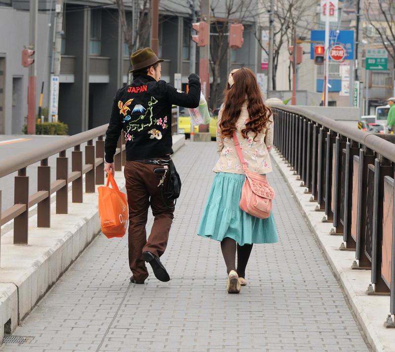 harajuku couple by jyoujo
