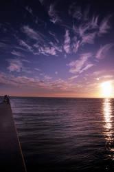 Utsumi sunset by jyoujo