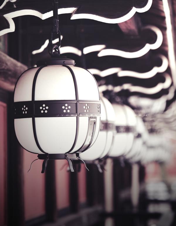 lamps of Kyoto by jyoujo