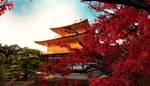 kinkaku-ji temple by jyoujo