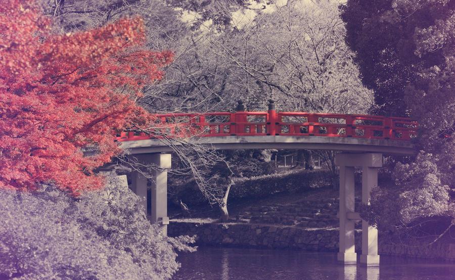 okazaki vintage bridge by jyoujo
