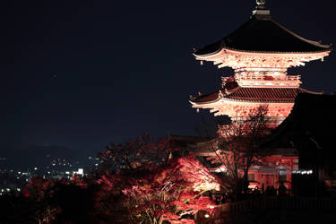 Kyoto At Night by jyoujo