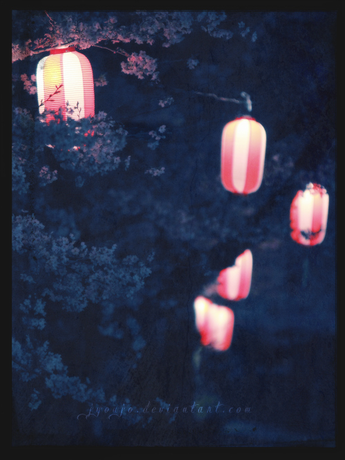 souls - sakura seasons fireflies on open air by jyoujo