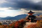 kyoto city daylight