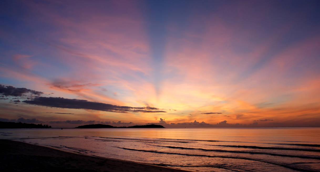 Beautiful Sunrise Wallpaper HD 4k