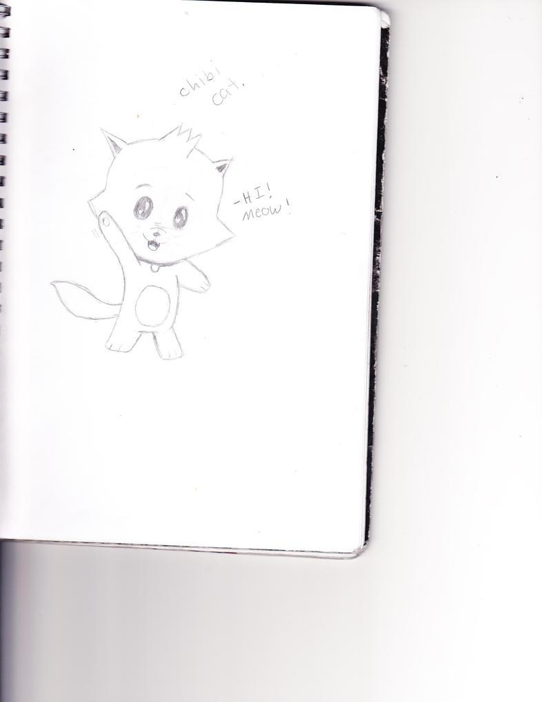 chibi cat by EmpatheticMortalAnge