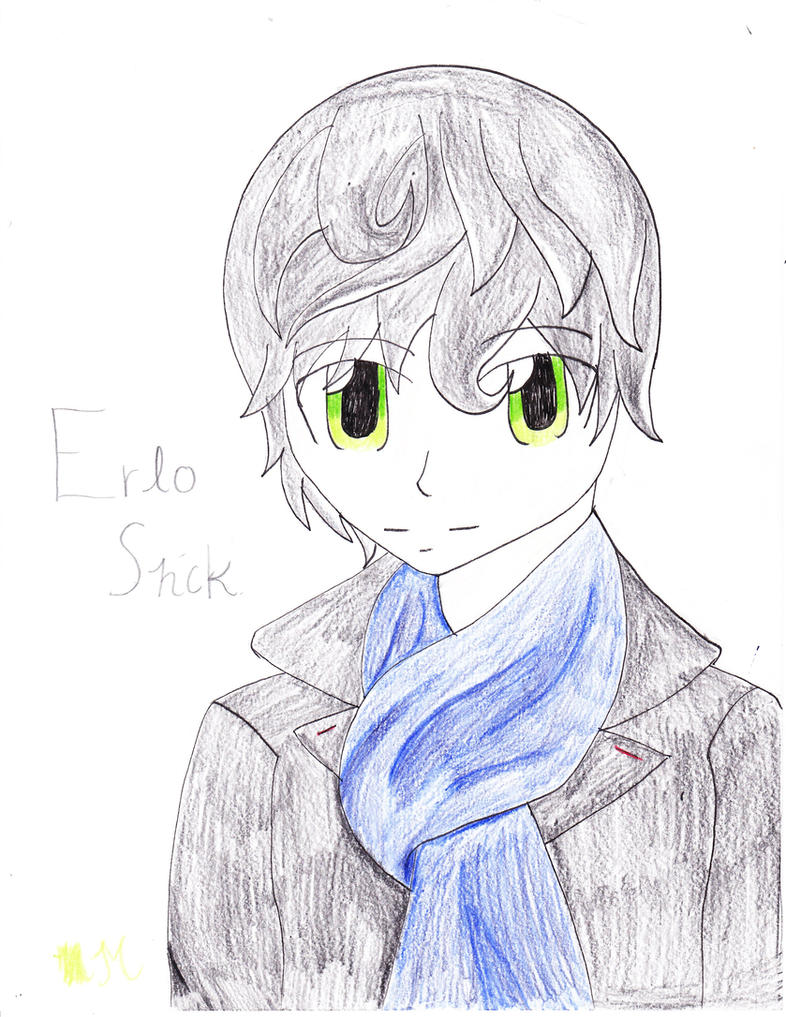 Erlo shck, the non chibi verson by EmpatheticMortalAnge