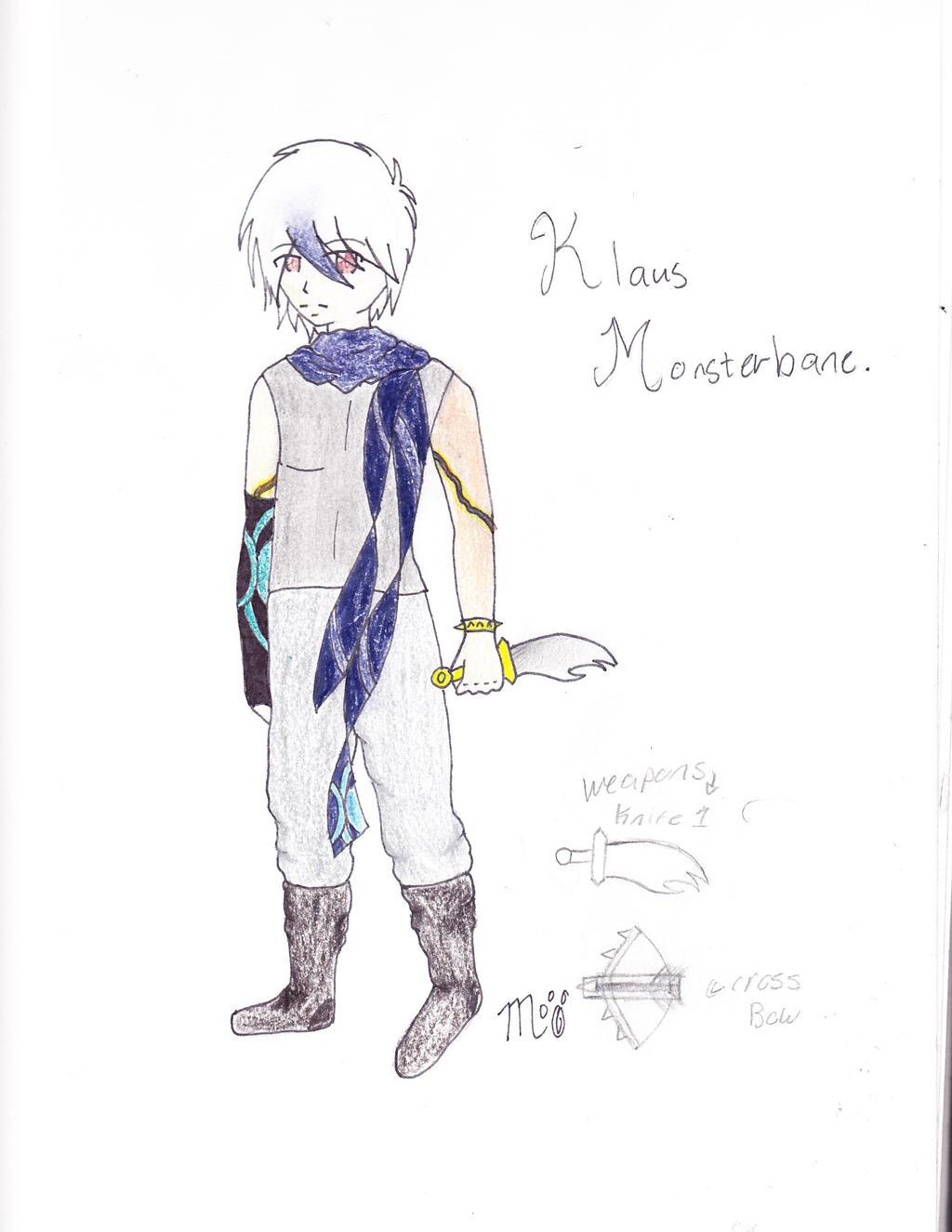 Kalus Monsterbane by EmpatheticMortalAnge
