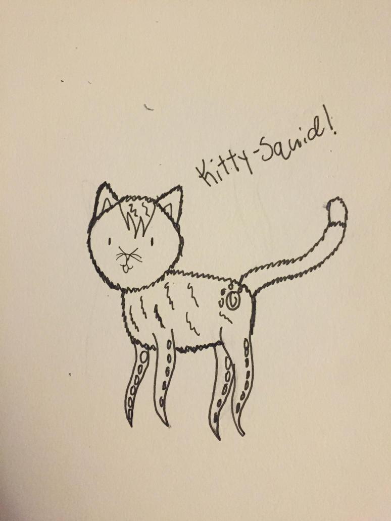 The kitty-squid!!!! by EmpatheticMortalAnge