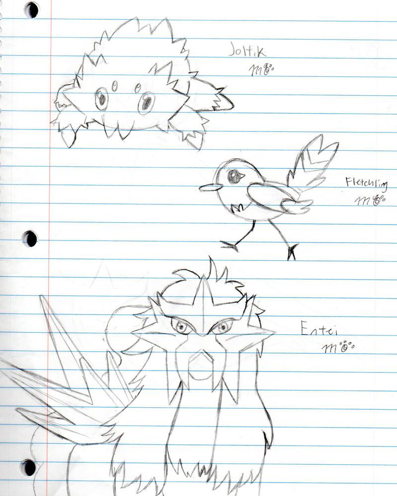 Doodle dump: Pokemon by EmpatheticMortalAnge