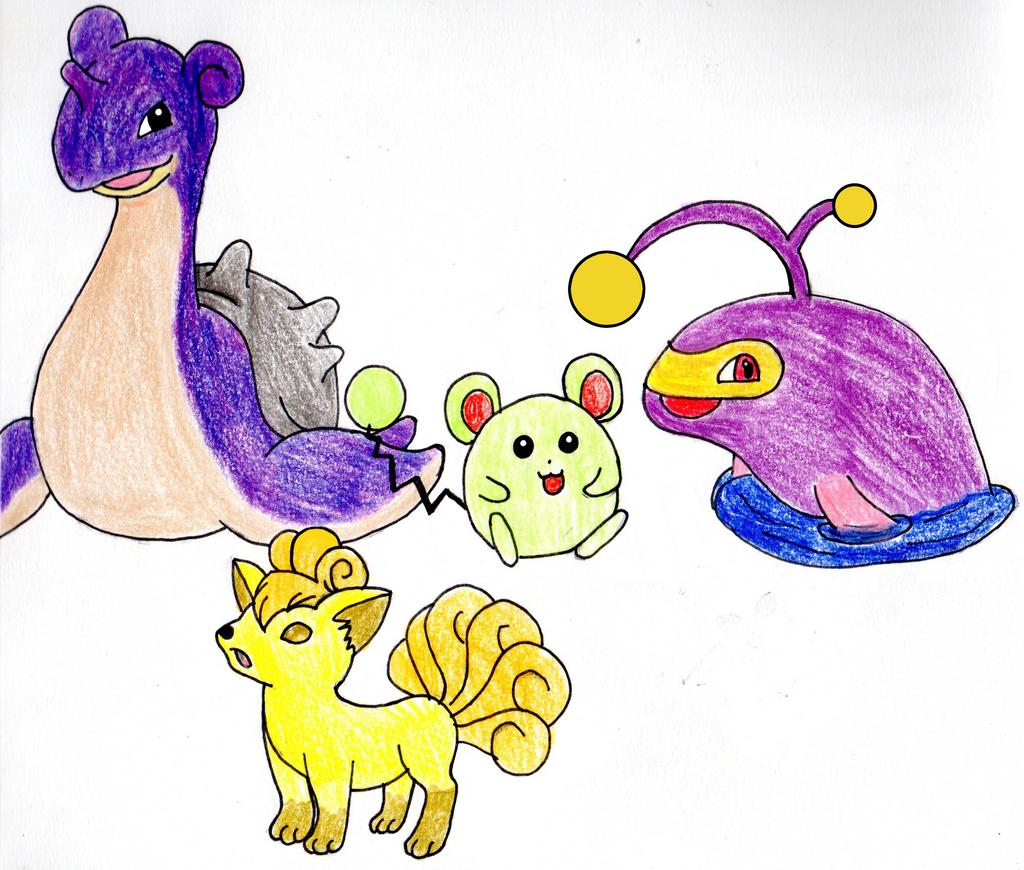 Commission: More Pokemans!! by EmpatheticMortalAnge