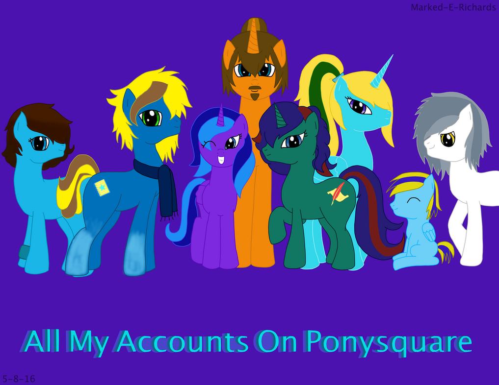 Pony OCs by EmpatheticMortalAnge