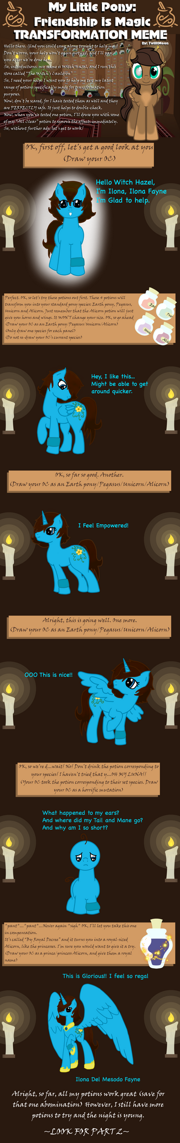 Transformation meme...again by EmpatheticMortalAnge